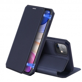 DuxDucis Skin X Bookcase iPhone 11 - Blue