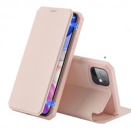 DuxDucis Skin X Bookcase iPhone 11 - Pink