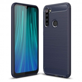 OEM Carbon Case Flexible Cover TPU Xiaomi Redmi Note 8 - Blue