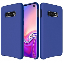 OEM Silicone Case Soft Flexible Rubber Samsung Galaxy S10 - Blue