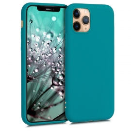 KW TPU Silicone Case iPhone 11 Pro - Teal Matte (49788.57)