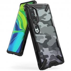 Ringke Fusion-X Design Xiaomi Mi Note 10 - Camo Black