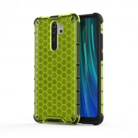 OEM Honeycomb Armor Case with TPU Bumper Xiaomi Redmi Note 8 Pro - Green
