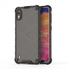 OEM Honeycomb Armor Case with TPU Bumper Samsung Galaxy A10 - Black