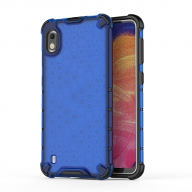 OEM Honeycomb Armor Case with TPU Bumper Samsung Galaxy A10 - Blue