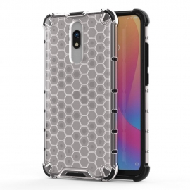 OEM Honeycomb Armor Case with TPU Bumper Xiaomi Redmi 8 / 8A - Transparent