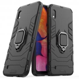 OEM Ring Kickstand Armor Samsung Galaxy A10 - Black