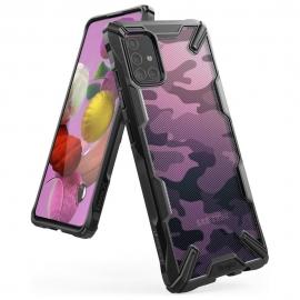 Ringke Dual-X Design Case Samsung Galaxy A71 - Camo Black