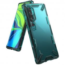 Ringke Fusion-X Design Xiaomi Mi Note 10 - Turquoise Green