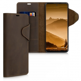 kalibri Wallet Case Samsung Galaxy A51 - Brown (51290.05)