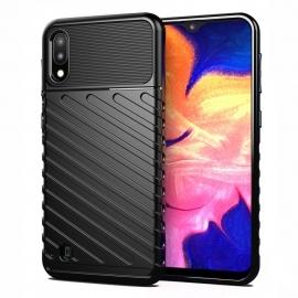 OEM Thunder Flexible Tough Rugged Cover TPU Case Samsung Galaxy A10 - Black