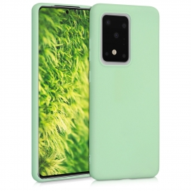 KW TPU Silicone Case Samsung Galaxy S20 Ultra - Mint Matte (51225.50)