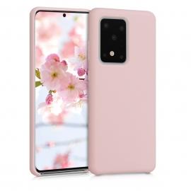 KW TPU Soft Flexible Rubber Samsung Galaxy S20 Ultra - Antique Pink Matte (51226.52)