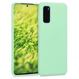 KW TPU Silicone Case Samsung Galaxy S20 - Mint Matte (51235.50)