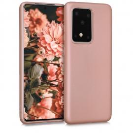 KW TPU Silicone Case Samsung Galaxy S20 Ultra - Metallic Rose Gold (51231.31)