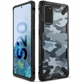 Ringke Fusion-X Design Samsung Galaxy S20 - Camo Black