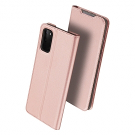 Dux Ducis Skin Pro Bookcase Samsung Galaxy S20 - Rose Gold