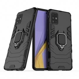 OEM Ring Kickstand Armor Samsung Galaxy A71 - Black
