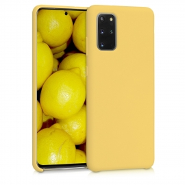 KW TPU Soft Flexible Rubber Samsung Galaxy S20 - Yellow Matte (51217.49)