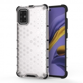 OEM Honeycomb Armor Case with TPU Bumper Samsung Galaxy S20 Plus - Transparent