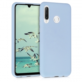 KW TPU Silicone Case Huawei P30 Lite - Light Blue Matte (47499.58)