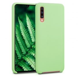 KW TPU Soft Flexible Rubber Samsung Galaxy A70 - Matcha Green (49097.174)