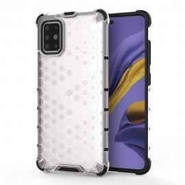 OEM Honeycomb Armor Case with TPU Bumper Samsung Galaxy A51 - Transparent