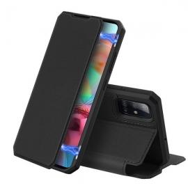 DuxDucis Skin X Bookcase Samsung Galaxy A71 - Black