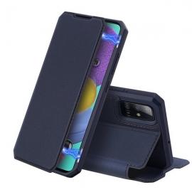 DuxDucis Skin X Bookcase Samsung Galaxy A51 - Blue