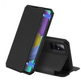 DuxDucis Skin X Bookcase Samsung Galaxy A51 - Black