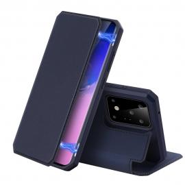 DuxDucis Skin X Bookcase Samsung Galaxy S20 Ultra - Blue