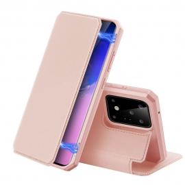 DuxDucis Skin X Bookcase Samsung Galaxy S20 Ultra - Pink