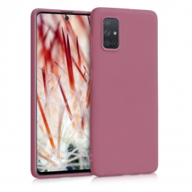 KW TPU Silicone Case Samsung Galaxy A71 - Deep Rusty Rose (51208.167)