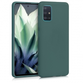 KW TPU Silicone Case Samsung Galaxy A51 - Blue Green (51196.171)