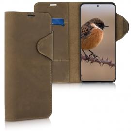 kalibri Wallet Case Samsung Galaxy S20 Ultra - Brown (51446.05)