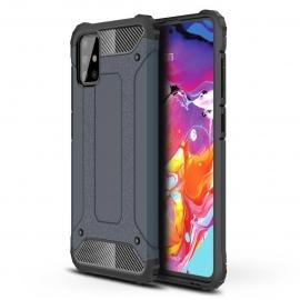 OEM Hybrid Armor Case Tough Rugged Samsung Galaxy A71 - Blue