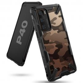 Ringke Dual-X Design Case Huawei P40 - Camo Black