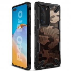 Ringke Dual-X Design Case Huawei P40 Pro - Camo Black