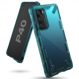 Ringke Dual-X Design Case Huawei P40 - Turquoise Green