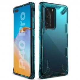 Ringke Dual-X Design Case Huawei P40 Pro - Turquoise Green