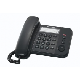 Panasonic Corded Phone KX-TS520 Black