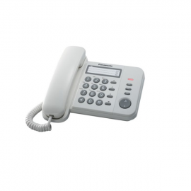 Panasonic Corded Phone KX-TS520 White