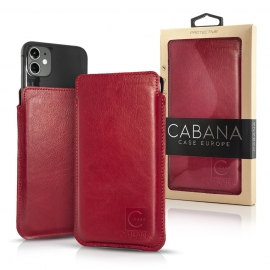 "Cabana Slim Up Universal Pouch Case Up to 5.9"" - Red"