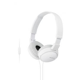 Sony Headphones MDR-ZX110AP - White