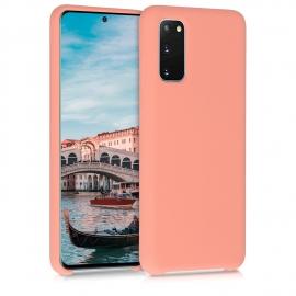 KW TPU Soft Flexible Rubber Samsung Galaxy S20 - Coral Matte (51236.56)