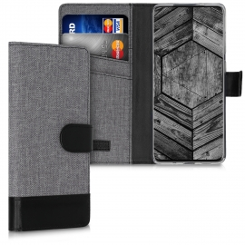 KW Wallet Case Samsung Galaxy S20 Plus - Grey / Black (51958.22)