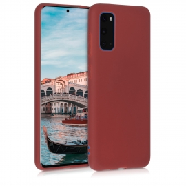 KW TPU Silicone Case Samsung Galaxy S20 - Maroon Red (51235.160)