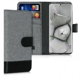 KW Wallet Case Samsung Galaxy S20 - Grey / Black (51957.22)