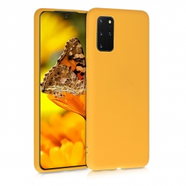 KW TPU Silicone Case Samsung Galaxy S20 Plus - Honey Yellow (51216.143)