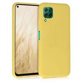 KW TPU Silicone Case Huawei P40 Lite - Yellow Matte (51519.49)